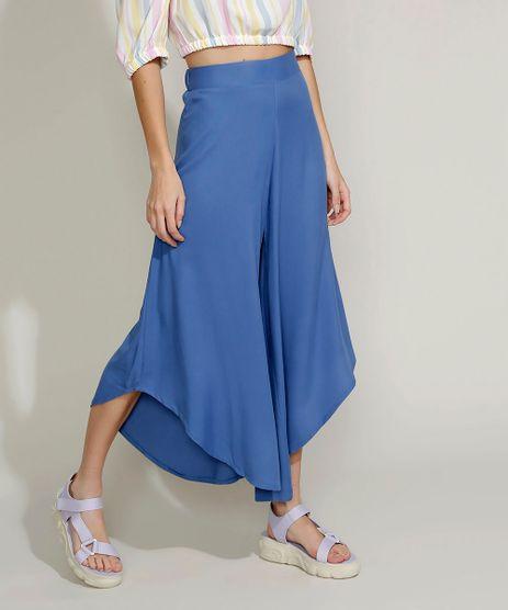 Calca-Feminina-Pantacourt-Cintura-Super-Alta-Arredondada-Azul-9959751-Azul_1