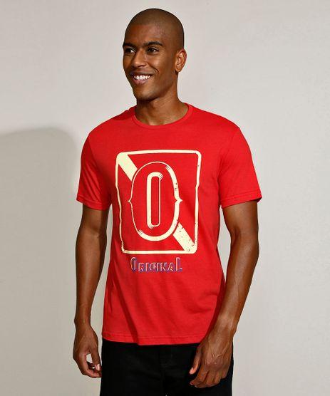 Camiseta-Masculina--Original--Manga-Curta-Gola-Careca-Vermelha-9956472-Vermelho_1