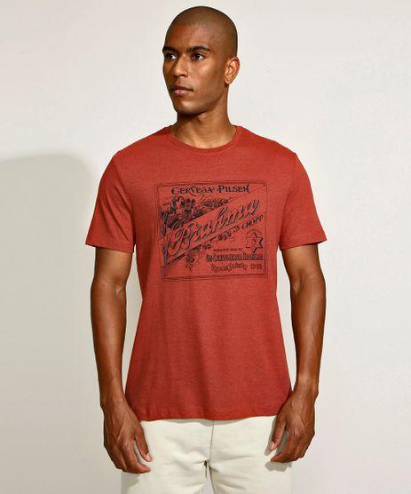 Camiseta-Masculina-Basica-Brahma-Manga-Curta-Gola-Careca-Laranja-Escuro-9962661-Laranja_Escuro_1