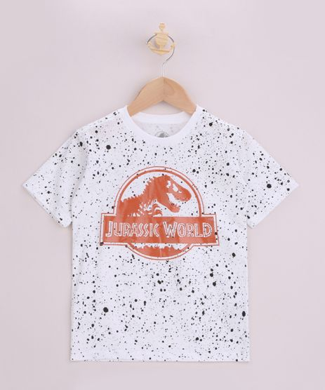 Camiseta-Infantil-Jurassik-World-Estampada-Manga-Curta-Off-White-9963242-Off_White_1