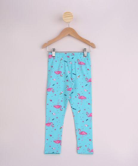 Calca-Legging-Infantil-Estampada-Flamingos-Cos-com-Elastico-Verde-9953607-Verde_1
