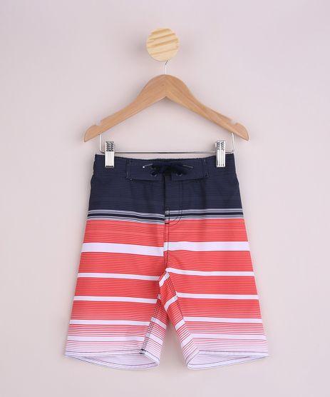 Bermuda-Infantil-Surf-Estampada-de-Listras-Cos-com-Cordao-Vermelha-9955560-Vermelho_1