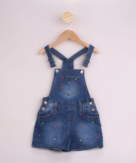 Jardineira-Jeans-Infantil-com-Micangas-Neon-e-Bolsos-Azul-Medio-9958616-Azul_Medio_1