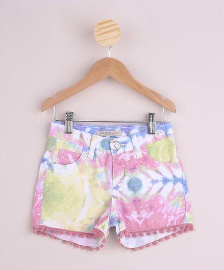 Short-de-Sarja-Infantil-Estampado-Tie-Dye-Rosa-9958994-Rosa_1