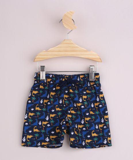 Short-Infantil-Surf-Estampado-de-Dinossauros-Cos-com-Cordao-Azul-Marinho-9960861-Azul_Marinho_1