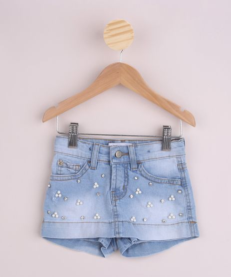 Short-Saia-Jeans-Infantil-com-Aplicacao-de-Perolas-e-Strass-Azul-Claro-9961400-Azul_Claro_1