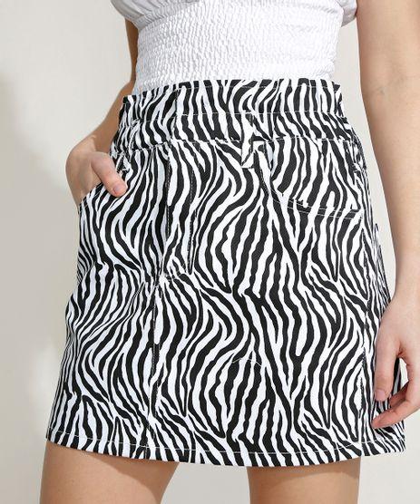 Saia-de-Sarja-Feminina-Mindset-Curta-Clochard-Estampada-Animal-Print-Zebra-Branca-9970609-Branco_1