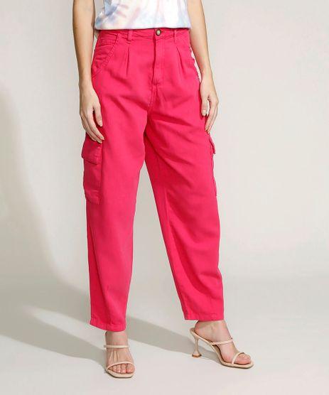 Calca-Feminina-Baggy-Cargo-Cintura-Alta-Pink-9962764-Pink_1