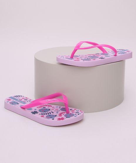 Chinelo-Infantil-Ipanema-Estampado-Floral-com-Joaninha-Pink-9958626-Pink_1
