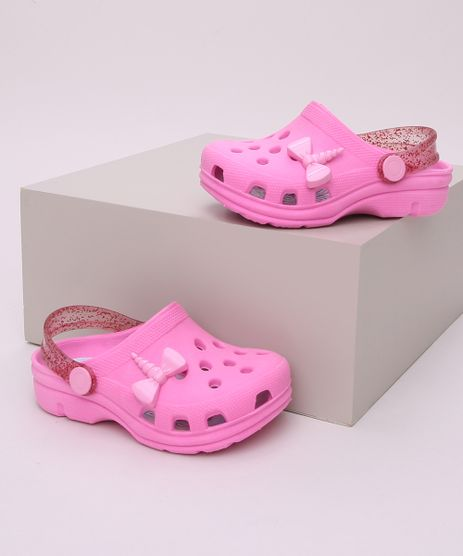 Babuche-Infantil-Unicornio-com-Glitter-Rosa-9959687-Rosa_1