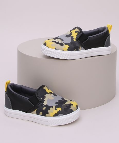Tenis-Infantil-Slp-On-Estampado-Batman-Preto-9964213-Preto_1