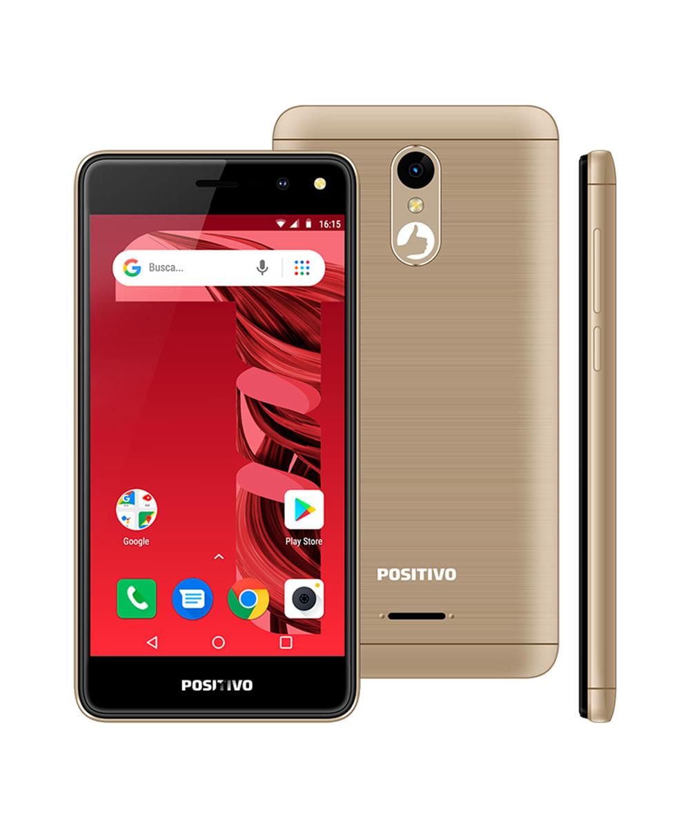 Smartphone Positivo Twist 3 Fit (S509C) DOURADO Dourado