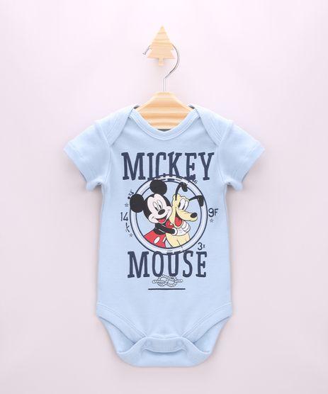 Body-Infantil-Mickey-e-Pluto-Manga-Curta-Azul-Claro-9947088-Azul_Claro_1