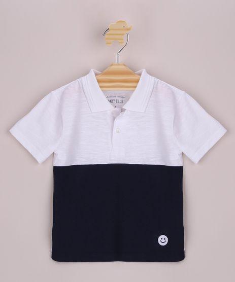 Polo-Infantil-em-Flame-com-Recorte-Manga-Curta-Branco-9954874-Branco_1