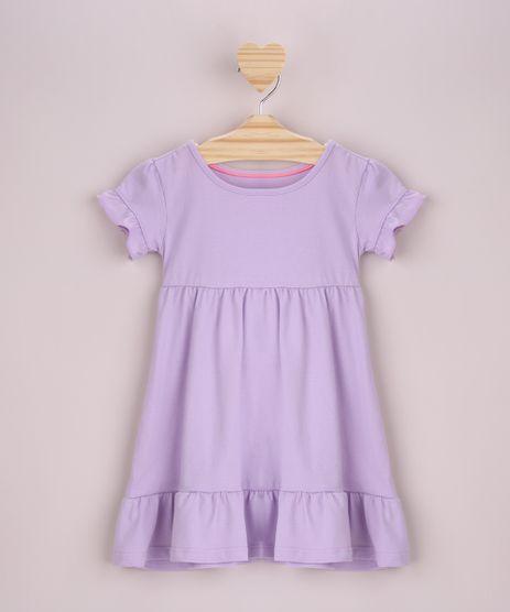 Vestido-Infantil-com-Babado-Manga-Curta-Lilas-9958893-Lilas_1