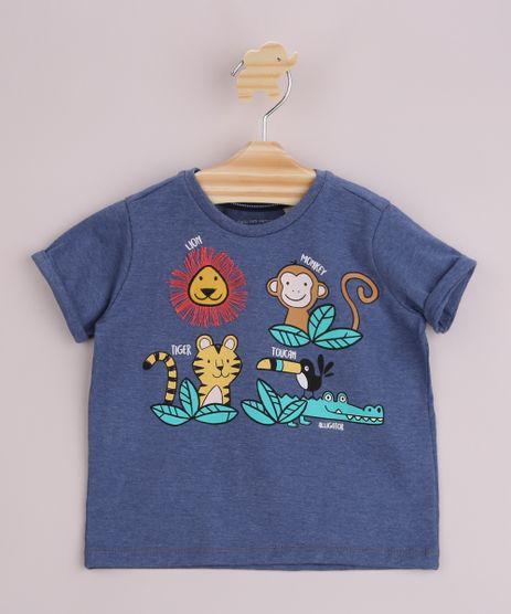 Camisa-Infantil-Animais-Manga-Curta-Azul-9963810-Azul_1