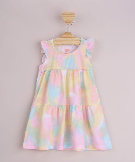 Vestido-Infantil-Estampado-Tie-Dye-com-Babado-Alcas-Medias-Multicor-9965635-Multicor_1