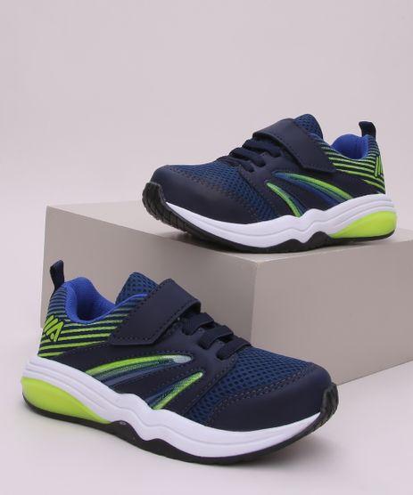 Tenis-Infantil-Esportivo-Ace-com-Recorte-e-Tira-com-Velcro-Azul-Marinho-9966065-Azul_Marinho_1