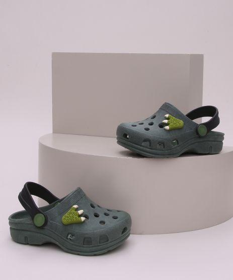 Babuche-Infantil-Dinossauro-Verde-Escuro-9960961-Verde_Escuro_1