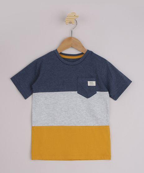 Camiseta-Infantil-com-Recortes-e-Bolso-Manga-Curta-Azul-9946362-Azul_1