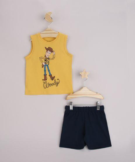 Conjunto-Infantil-Regata-Woody-Toy-Story-Amarela---Bermuda-Azul-Marinho-9963480-Azul_Marinho_1