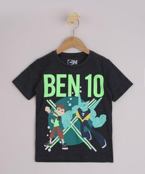 Camiseta-Infantil-Ben10-Manga-Curta-Cinza-Mescla-Escuro-9964569-Cinza_Mescla_Escuro_1