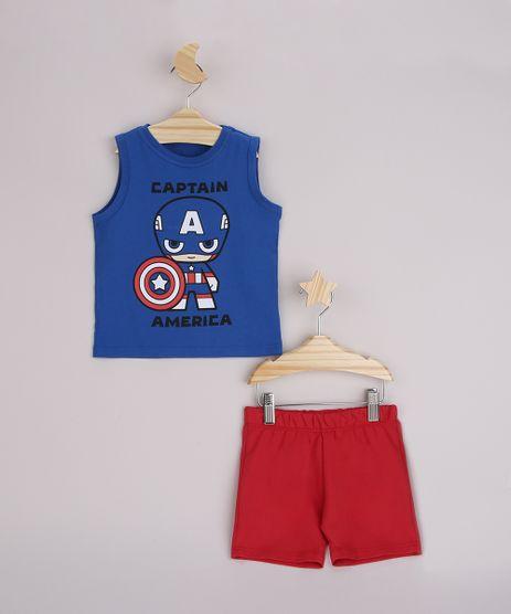 Conjunto-Infantil-Regata-Capitao-America-Azul---Bermuda-Vermelho-9963487-Vermelho_1