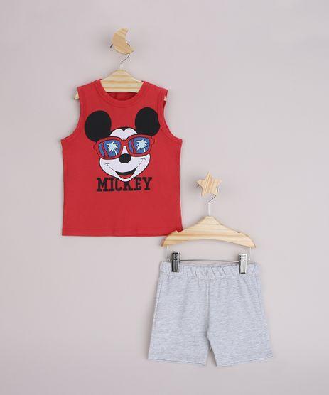 Conjunto-Infantil-Regata-Mickey-Vermelha---Bermuda-Cinza-Mescla-Claro-9963481-Cinza_Mescla_Claro_1