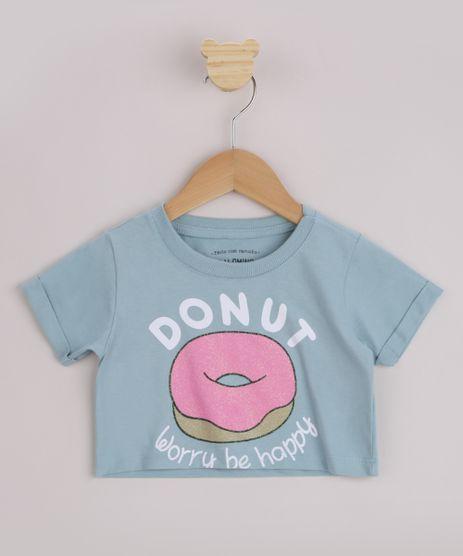Blusa-Infantil-Cropped--Donuts--Manga-Curta-Azul-9967056-Azul_1