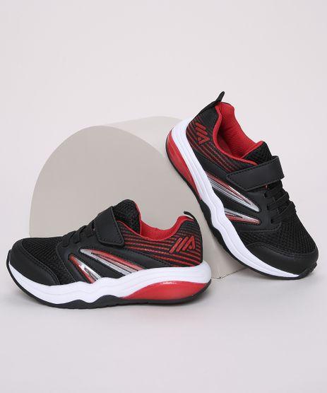 Tenis-Infantil-Esportivo-Ace-com-Cadarco-Tira-e-Velcro-Preto-9966066-Preto_1