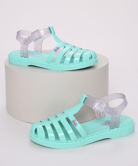 Sandalia-Infantil-Barbie-com-Tiras-e-Glitter-Verde-9972487-Verde_1