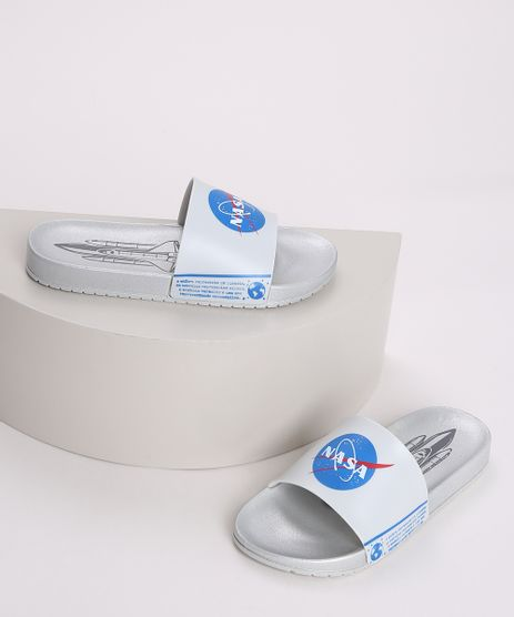 Chinelo-Infantil-Slide-NASA-Foguete-Metalizado-Cinza-9970714-Cinza_1