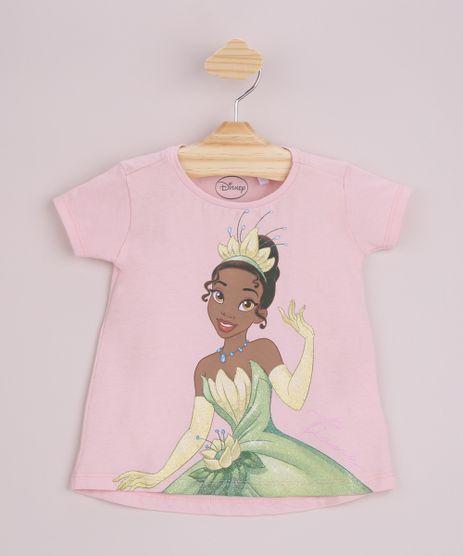 Blusa-Infantil-Princesa-Tiana-com-Glitter-Manga-Curta-Rosa-Claro-9965062-Rosa_Claro_1
