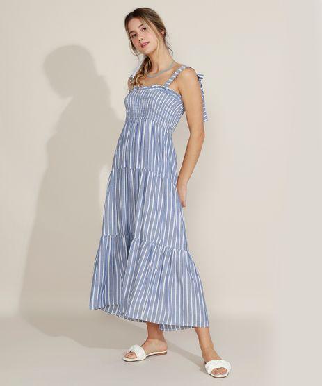 Vestido-Feminino-Midi-Estampado-Listrado-Alcas-Medias-e-Lastex-Azul-9957761-Azul_1