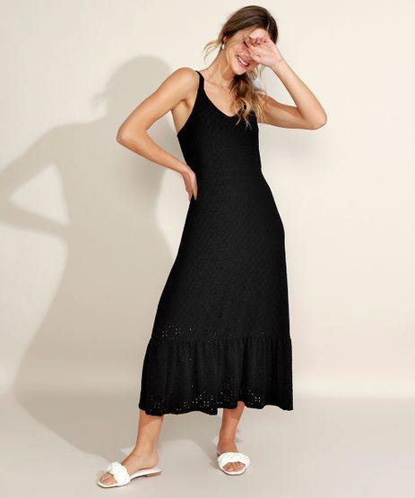 Vestido-de-Laise-Feminino-Midi-Alca-Media-Preto-9959975-Preto_1