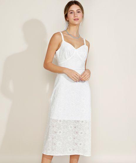 Vestido-Feminino-Midi-em-Laise-Alcas-Finas-Decote-V-Branco-9960516-Branco_1
