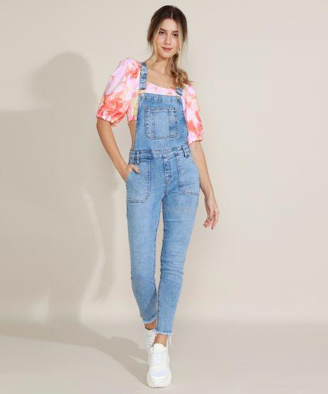 Macacao-Jeans-Feminino-Destroyed-com-Bolsos-Azul-Claro-9963979-Azul_Claro_1