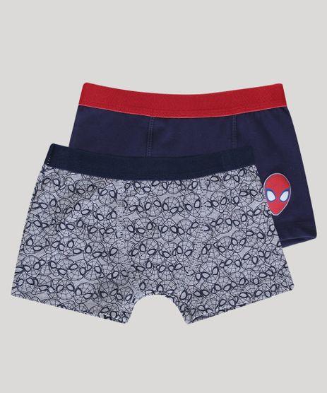 Kit-de-2-Cuecas-Boxer-Infantis-Homem-Aranha-Multicor-9347442-Multicor_1