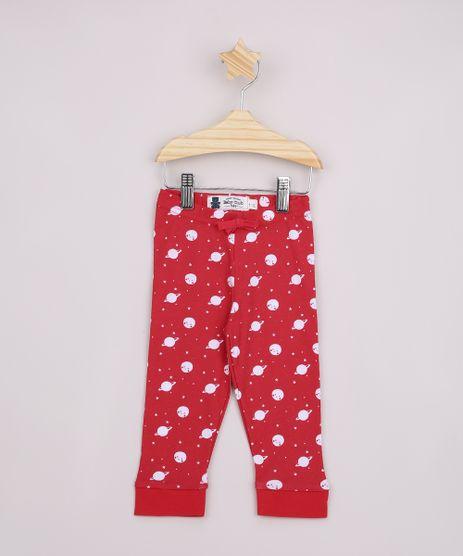Calca-Legging-Infantil-Estampada-de-Planetas-Vermelha-9908659-Vermelho_1