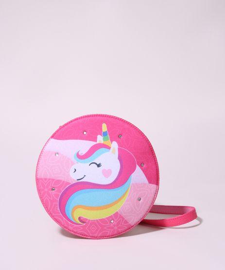 Bolsa-Infantil-Redonda-Estampada-de-Unicornio-Rosa-9948871-Rosa_1