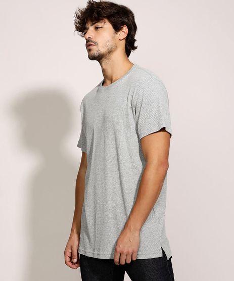 Camiseta-Masculina-Longa-Manga-Curta-Gola-Careca-Cinza-Mescla-9959792-Cinza_Mescla_1