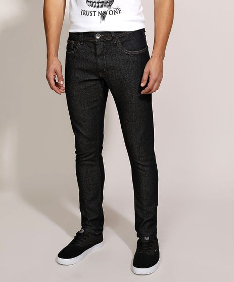 Calca-Jeans-Masculina-Skinny-com-Bolsos-Azul-Escuro-9962766-Azul_Escuro_1