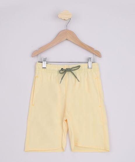 Bermuda-Infantil-com-Bolsos-Amarela-9663800-Amarelo_1
