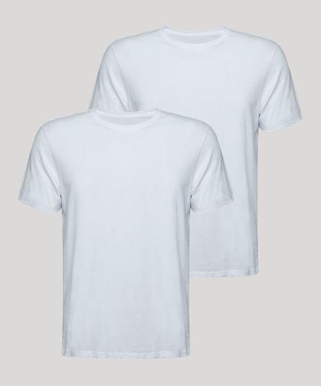 Kit-de-2-Camisetas-Masculinas-Basicas-Manga-Curta-Gola-Careca-Branco-9965573-Branco_1