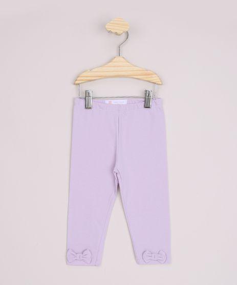 Calca-Legging-Infantil-Basica-Laco-e-Cos-com-Elastico-Lilas-9970657-Lilas_1