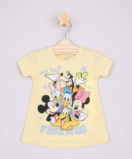 Blusa-Infantil-Ampla-Turma-do-Mickey--My-Best-Friends--Manga-Curta-Amarela-9965644-Amarelo_1