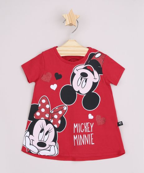 Blusa-Infantil-Ampla-Mickey-e-Minnie-Manga-Curta-Vermelha-9967469-Vermelho_1