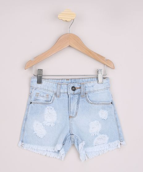 Short-Jeans-Infantil-Destroyed-Barra-Desfiada-Azul-Claro-9966325-Azul_Claro_1