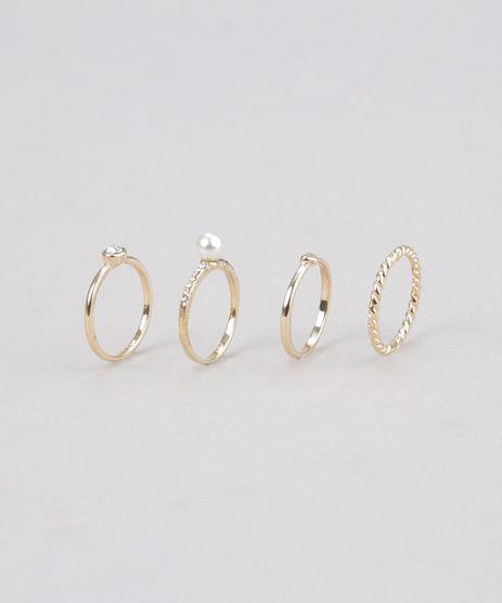 Kit-de-4-Aneis-Dourado-8673707-Dourado_1