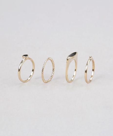 Kit-de-4-Aneis-Dourado-8673702-Dourado_1
